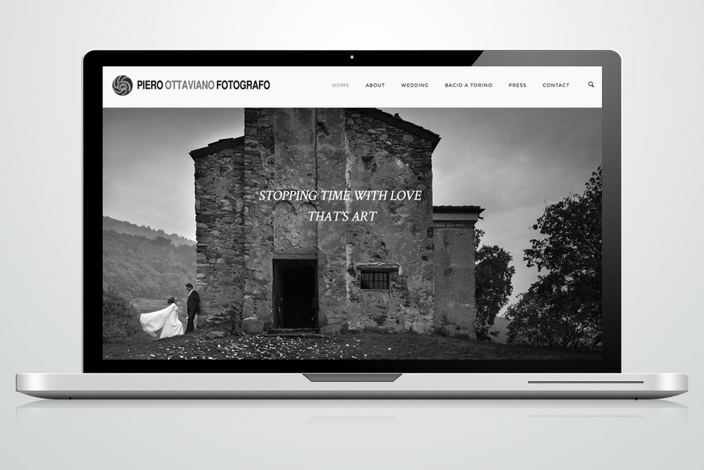 Website - Fotografo Piero Ottaviano