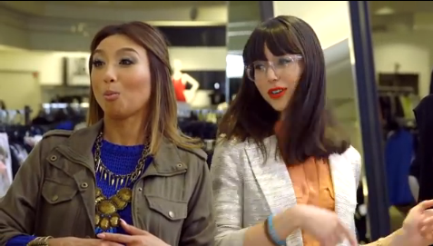 Melynda with  Jeannie Mai , fashion expert, actress, TV personality, and famously known as the host of the  Style Network