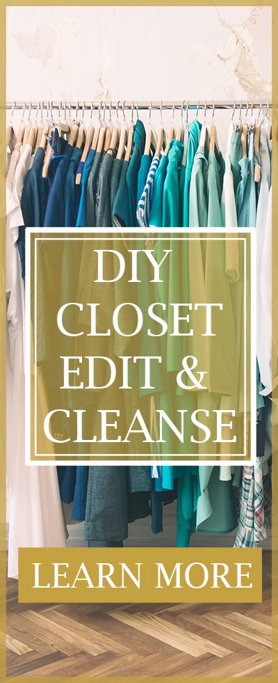 Learn how to edit and organize your closet like a professional personal stylist
