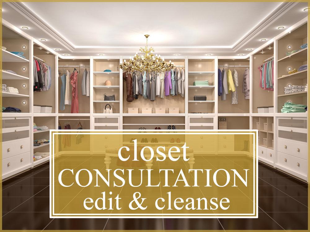 Closet Consultation Edit Amp Cleanse The Shopping Friend