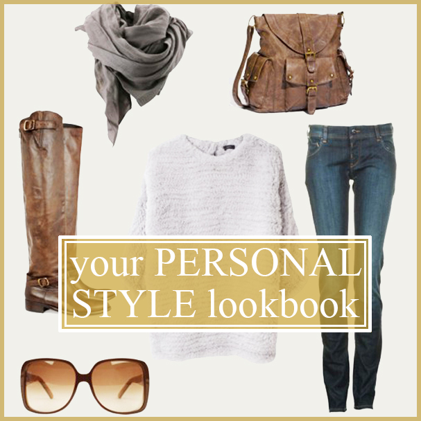 It's your own personal catalog featuring varied stylish outfits from YOUR closet and wardrobe.