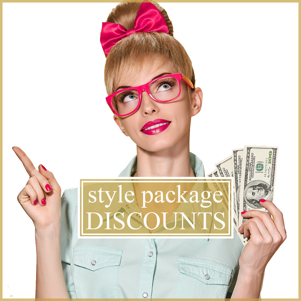 For our clients who want continued styling services with their Shopping Friend, we've got something special for you. The rates for our services vary based on the stylist and locations. But typically our rates are somewhere between $95 and $125 per hour. Please contact us with your location and we can quote you the rate for your city. Many of our clients are repeat clients and desire style refreshes and seasonal updates after their initial closet consultations and shopping sprees. For those clients, we'd like to offer larger packages at a discount that you can use at your leisure (all session times have a minimum of 2.5 hours). For time estimates on how long each service typically takes, please view our different services