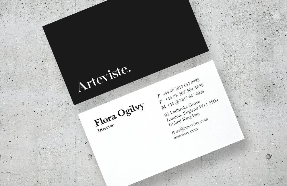 Arteviste - Branding | Digital | Art Direction