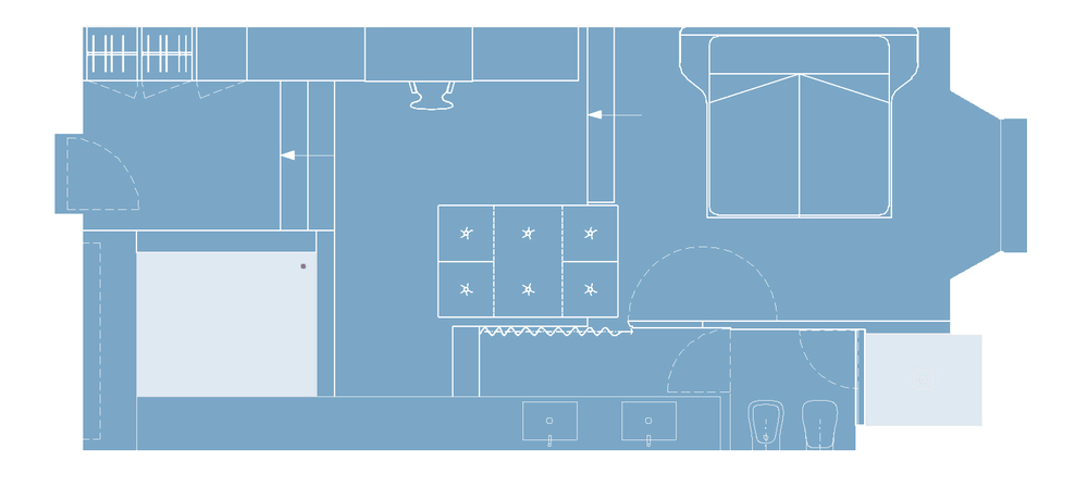 Spa Room-plan