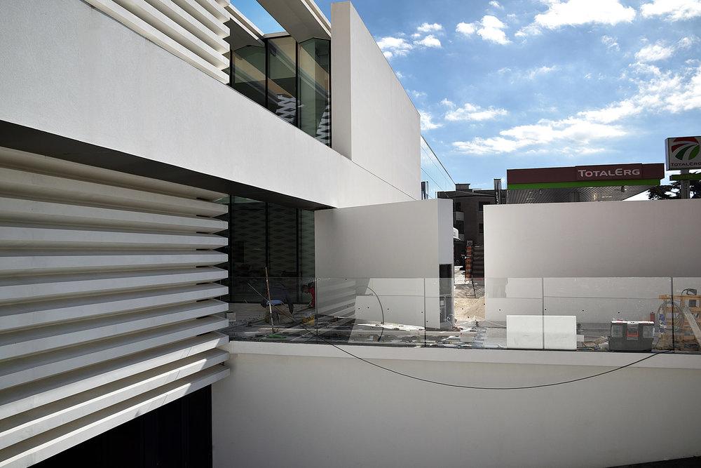 Building site- street facade-