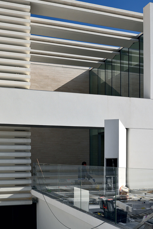 Building site- entrance