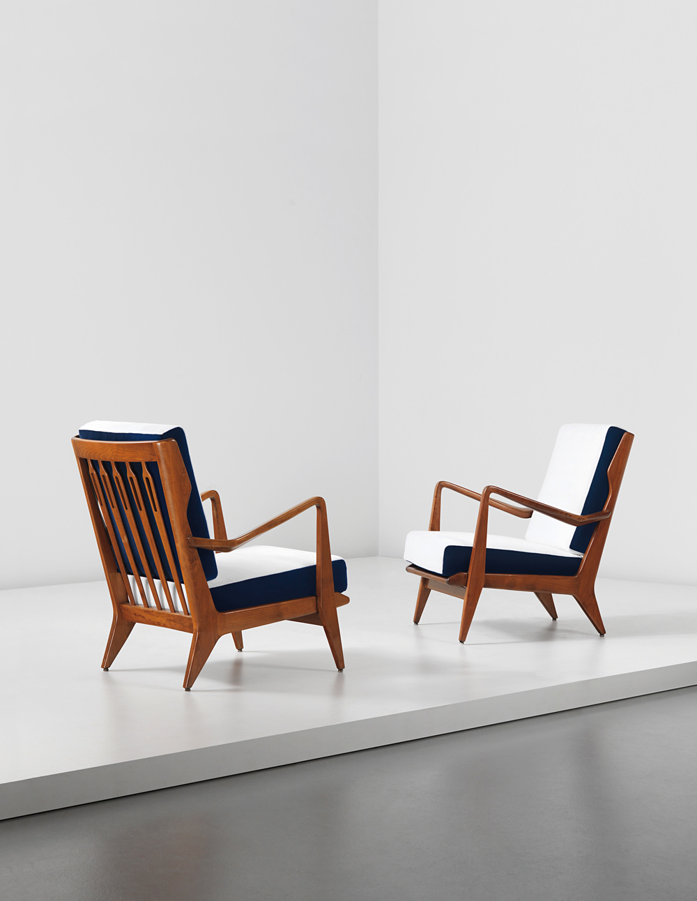Gio Ponti     (1891-1979)Armchairs, c.1955, Phillips  London