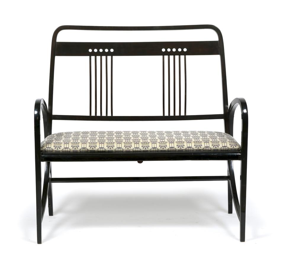 Thonet, c.1904, Ebonised Two Seater Sofa, Dorotheum Vienna