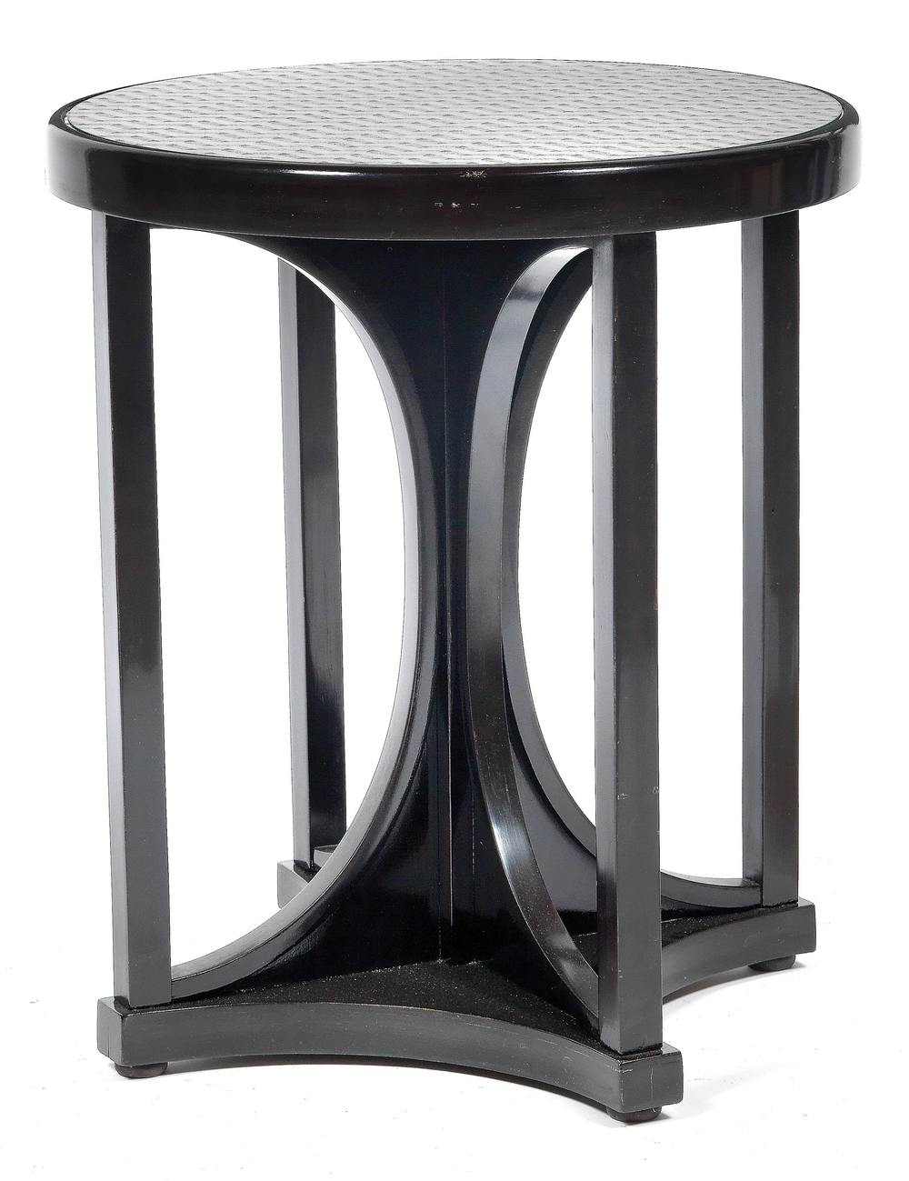 Josef Hoffmann (1870-1956) An Ebonised Occasional Table, designed, c.1910, Dorotheum Vienna