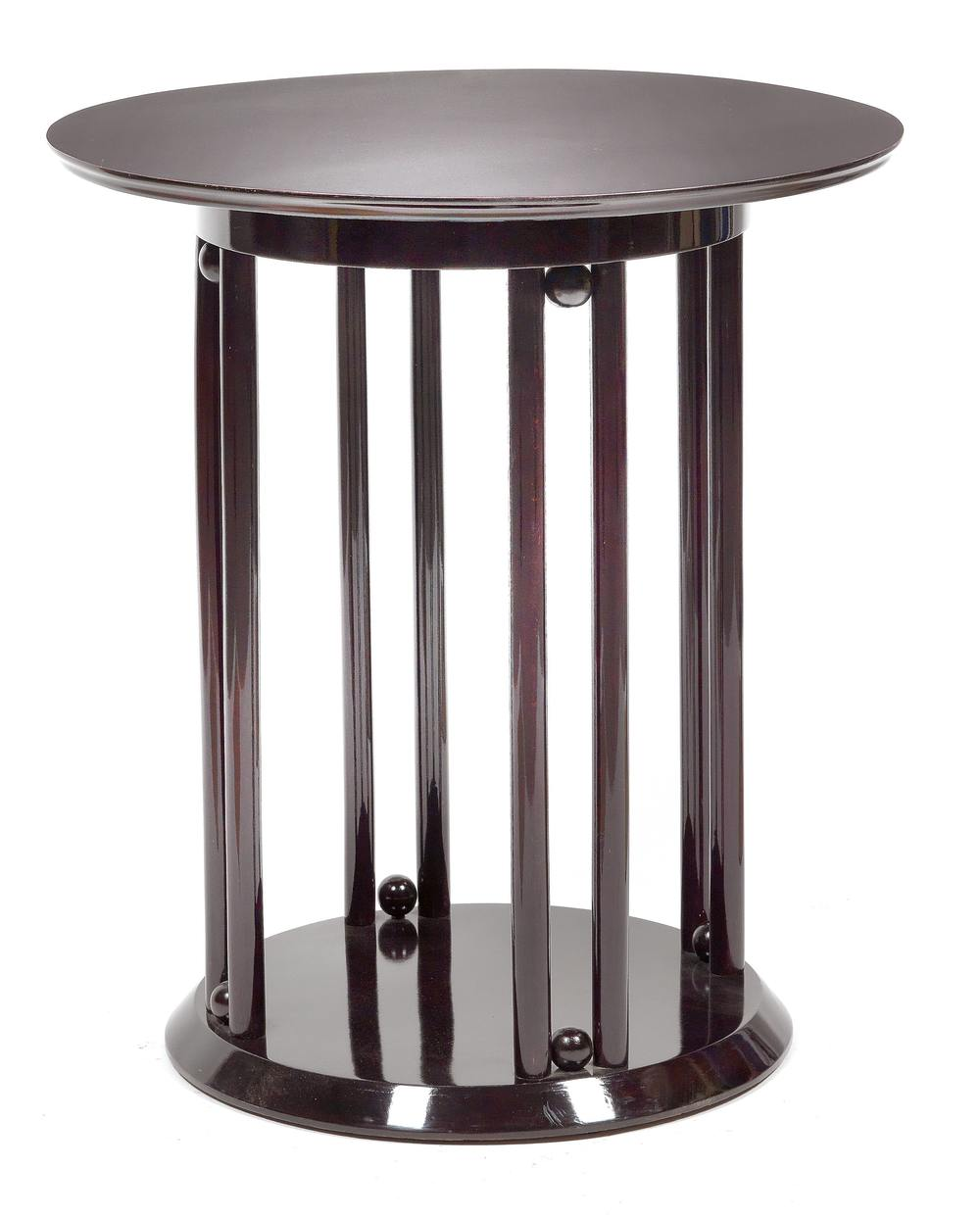 Josef Hoffmann (1870-1956) An Ebonised Occasional Table, for J & J Kohn, c.1906, Dorotheum Vienna