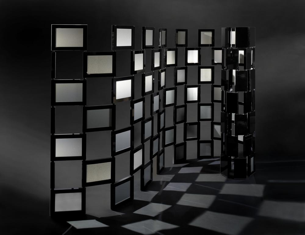 Black Holes Modern Screen by Matthieu de Premont, March 18th Tajan Auction House Paris