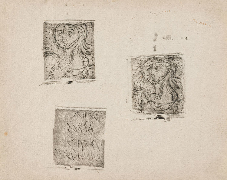Print in Focus: Picasso, \'Buste de femme (with dedication plate ...