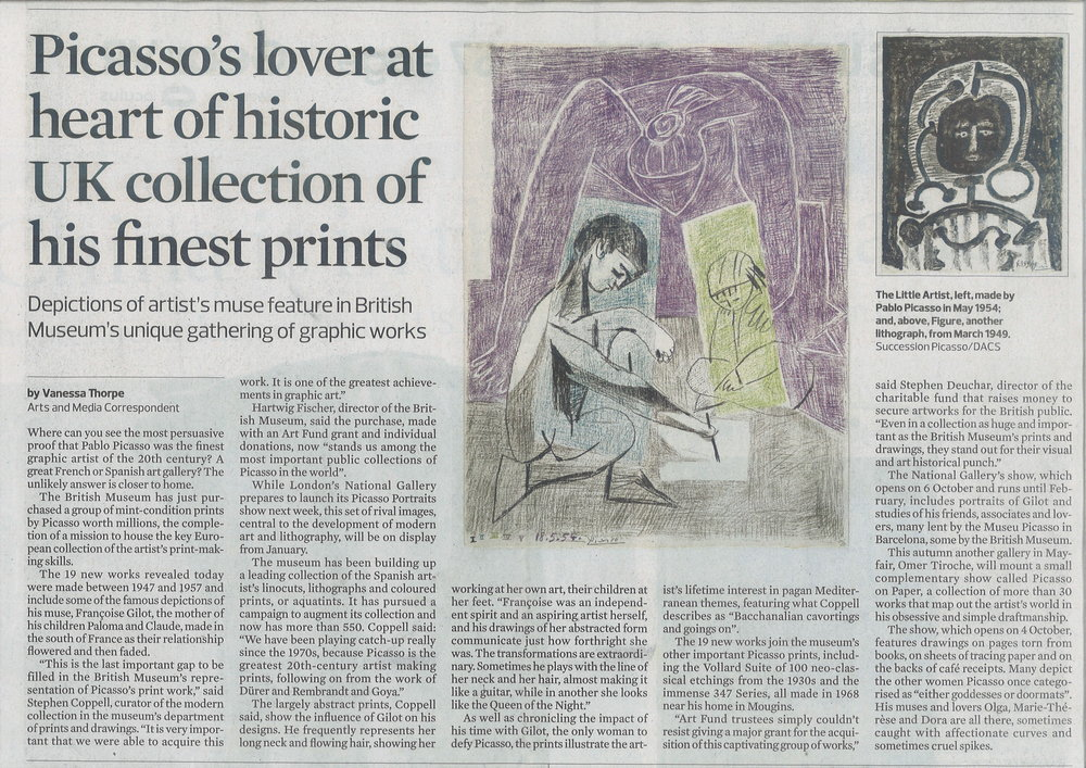alison watt and picasso Watt was born in greenock and studied at glasgow school of art she first came  to prominence when, still a student, she won a national portrait competition.