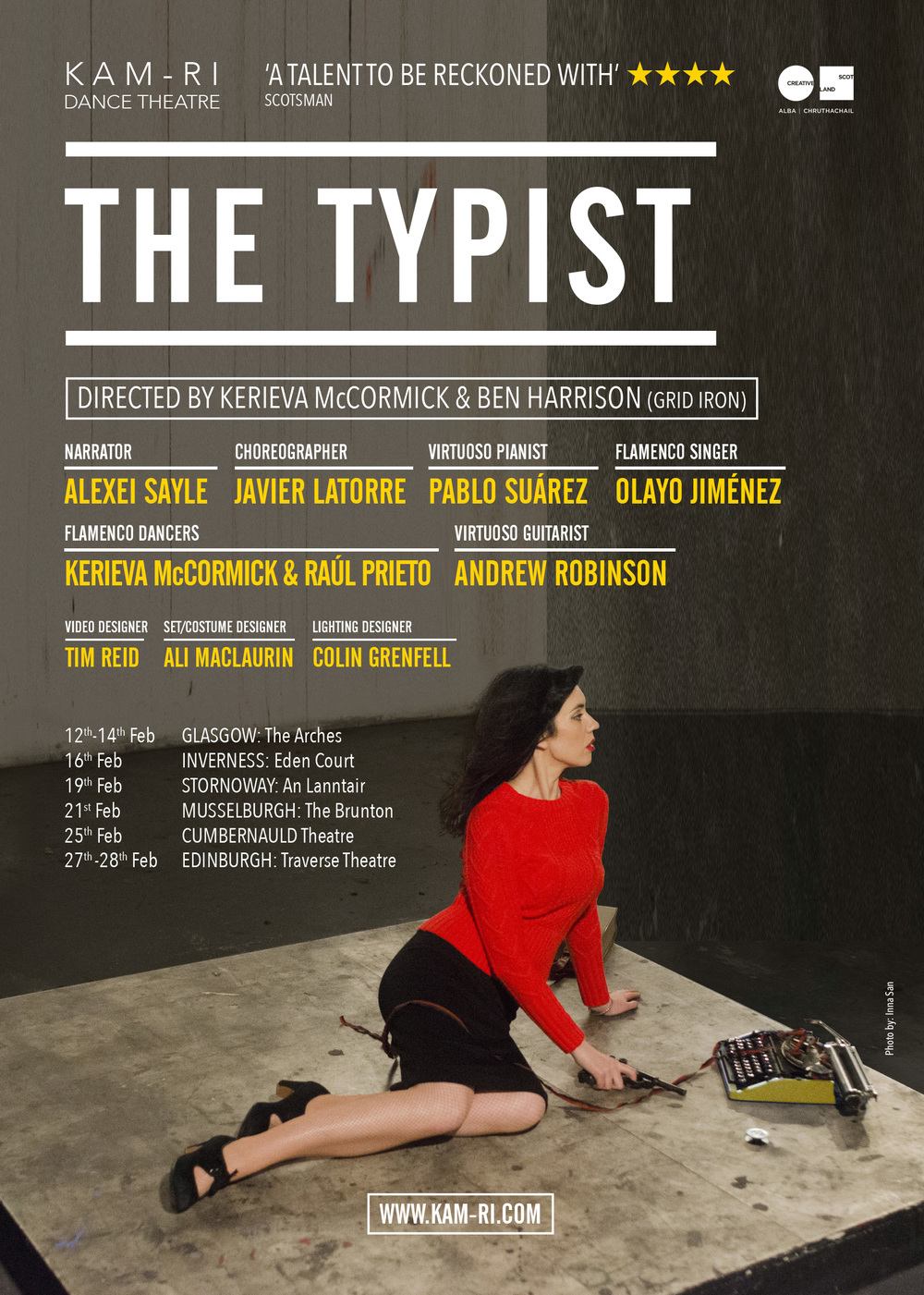 The Typist (Marketing, press, design, photography)