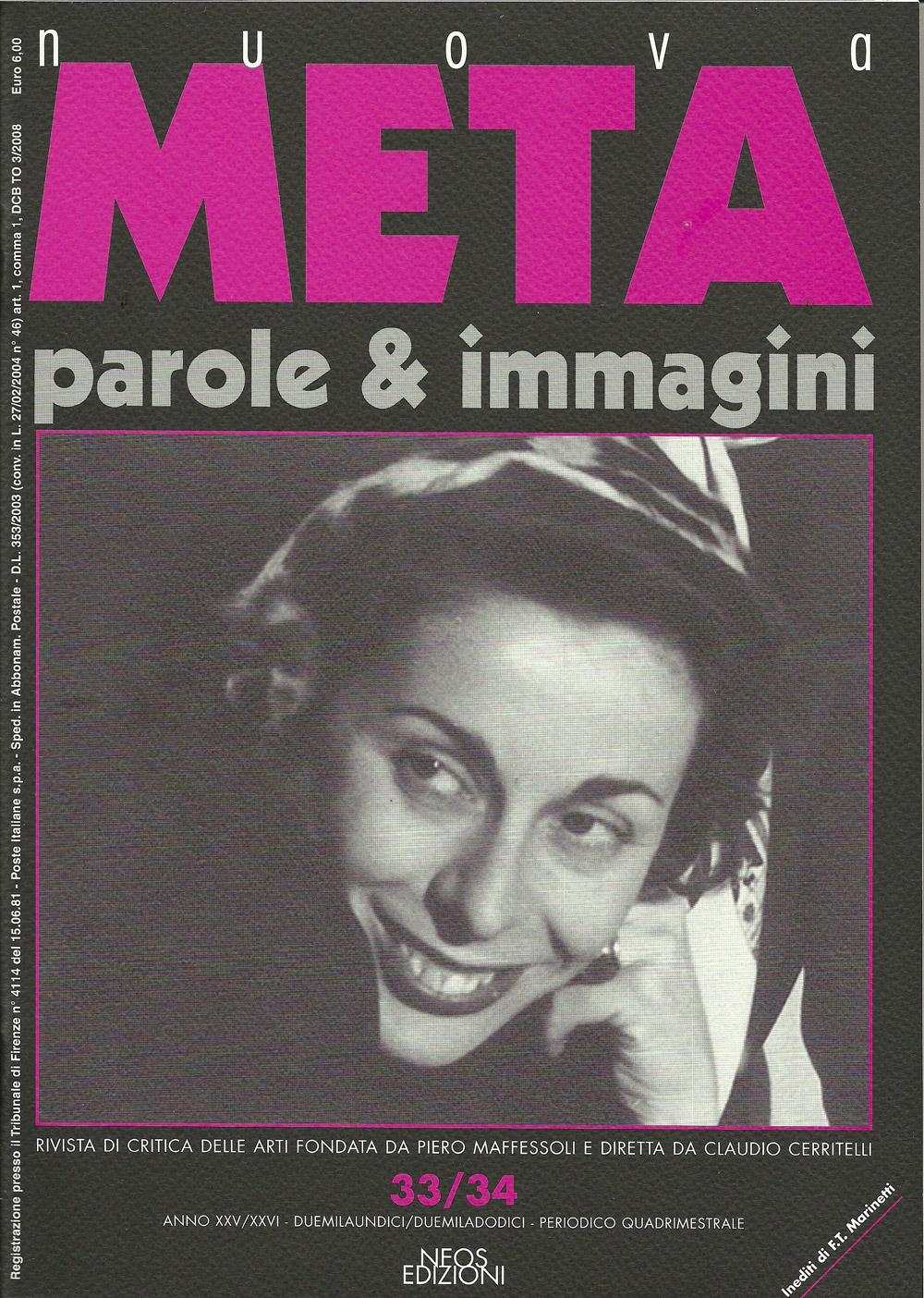 nuova META. anno XXV 2012
