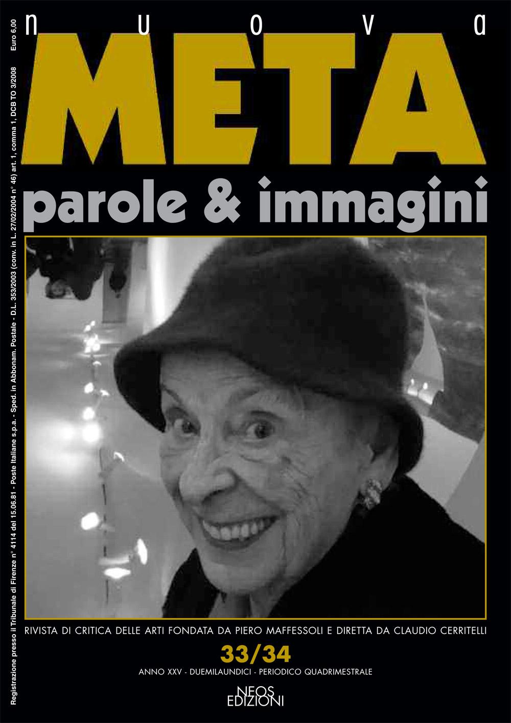 nuova META. anno XXV 2011