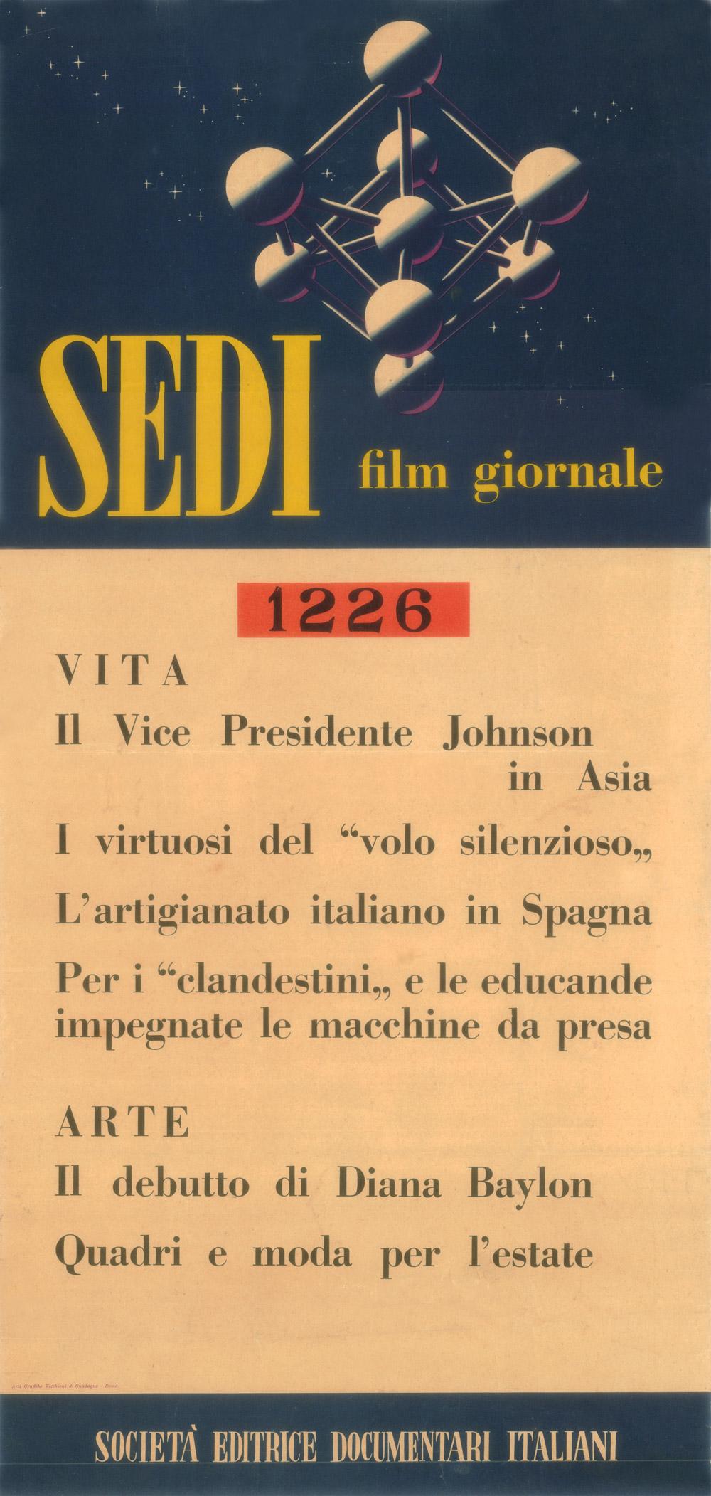 SEDI cinegiornale   1961