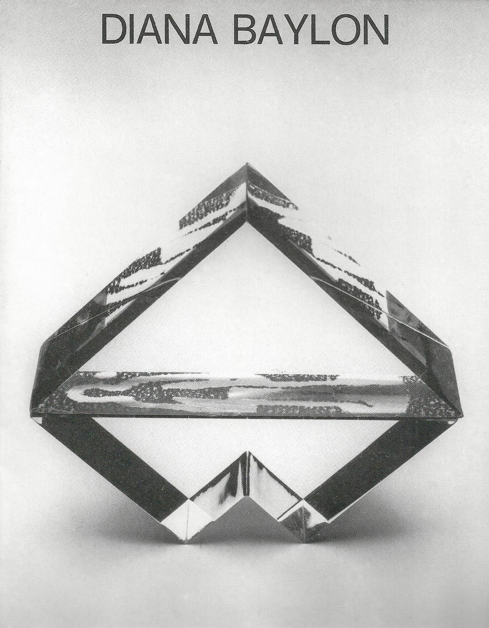 Diana Baylon: dell'assoluto sensibile  Expo Arte Bari, 1982 a cura di Giuliano Serafini