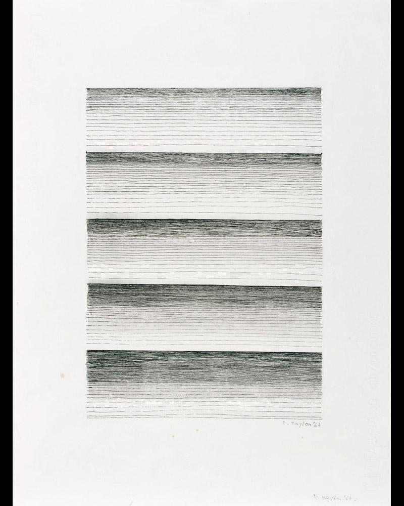 Senza titolo, 1964 china su carta, 48x35,5cm