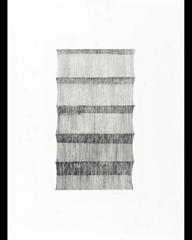 Senza titolo, 1964  china su carta, 48x35,5cm