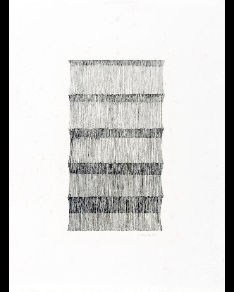 Senza titolo,1964  china su carta, 48x35,5cm
