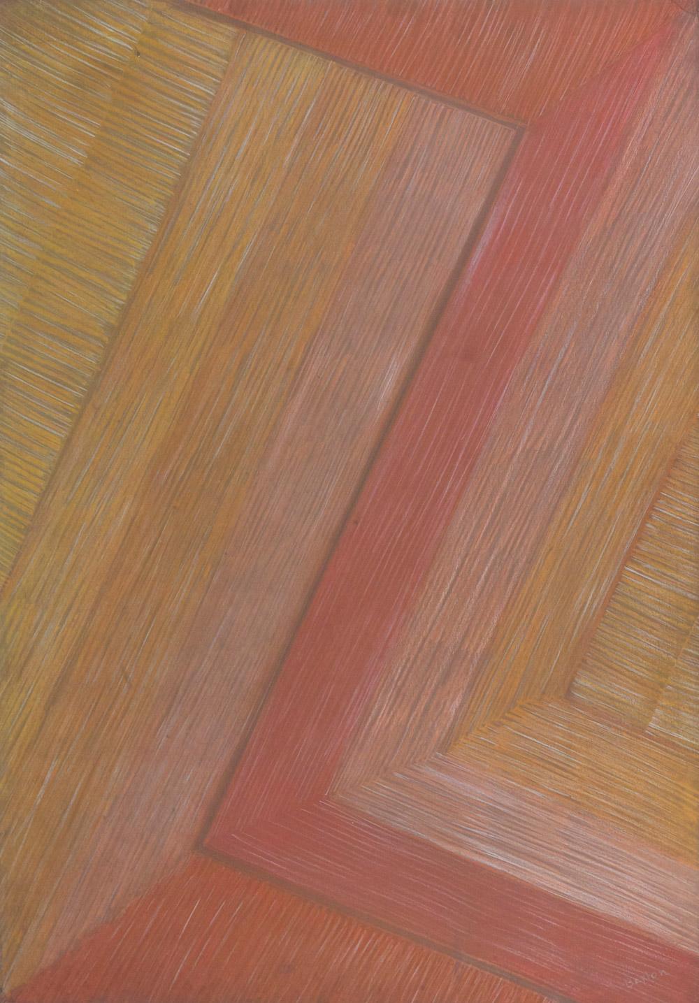 Senza titolo, sd  gessetto su cartoncino, 96x68 cm Presso il Gabinetto dei Disegni e delle Stampe della Galleria degli Uffizi, cod.123634