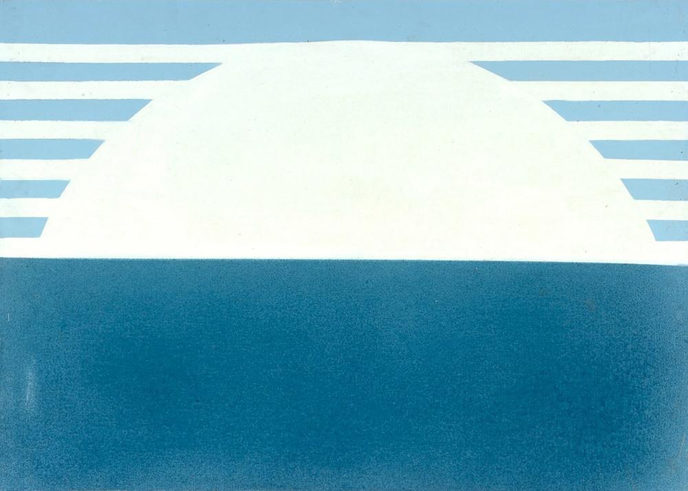 Senza titolo, 1966 olio su tela, 50x70 cm