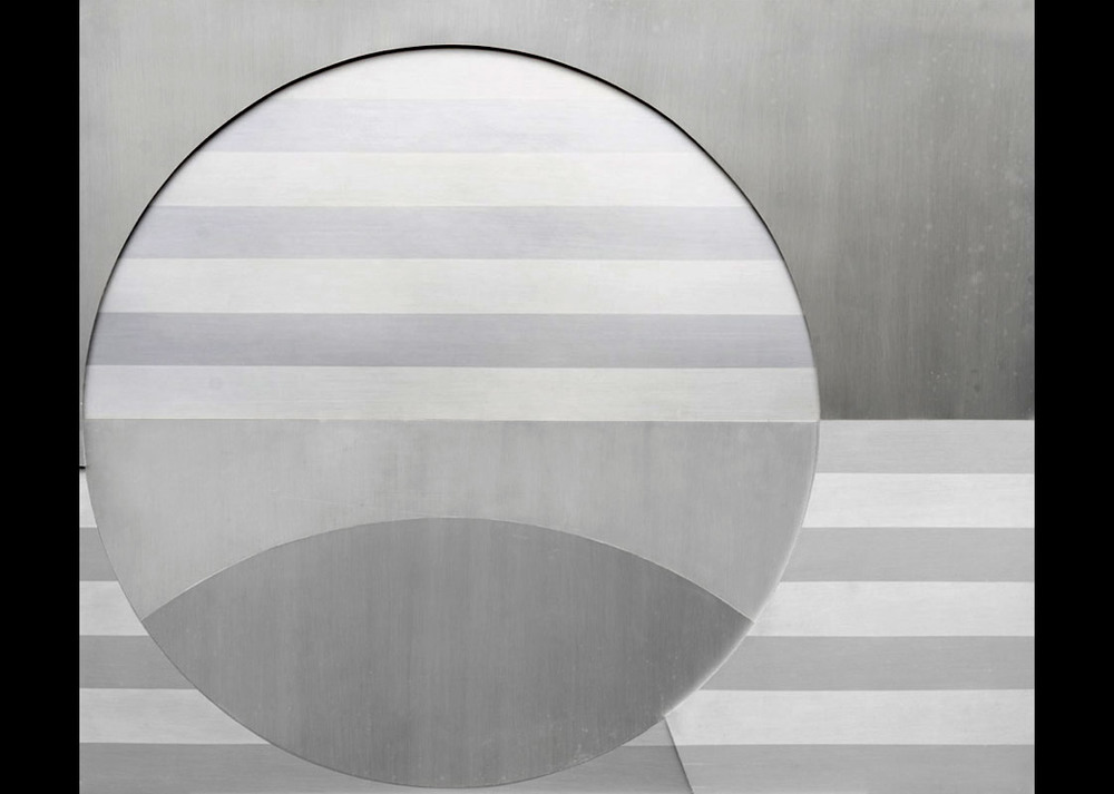 Senza titolo, 1972 alluminio anodizzato, 82x99 cm