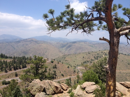 LOOKOUT MOUNTAIN, GOLDEN, COLORADO FROM WISE OWL MARIE