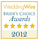 WeddingWire Bride's Choice Awards 2012.png