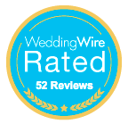 WeddingWire Rated - Pink Palette Artists