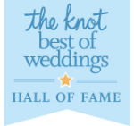 the knot Best of Weddings Hall of Fame - Pink Palette Artists - Houston TX