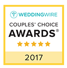 WeddingWire Couples Choice Award 2017 - Pink Palette Artists - Houston TX