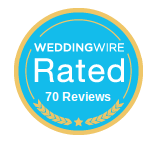 WeddingWire Rated - Pink Palette Artists Houston.png
