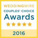 WeddingWire Couples' Choice Award 2016 - Pink Palette Artists Houston TX
