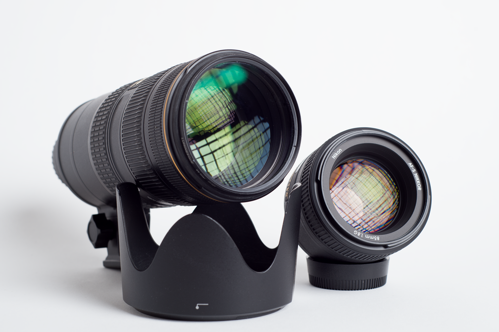 Nikkor70-200mm f/2.8G ED VR II AF-S & Nikkor85mm f/1.8G AF-S
