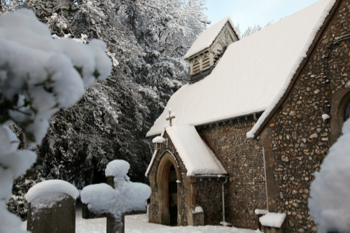 St Laurence Church, Cholesbury. Photo courtesy of Liz Green