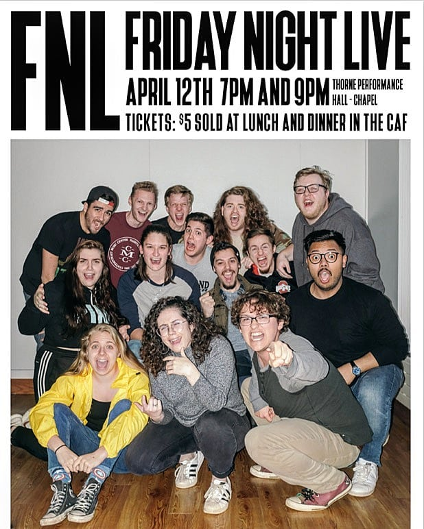 Are you ready for Friday Night Live tomorrow night? You only have one more day to buy your tickets in the caf lobby! Don't miss out on all the fun ✨🍿🎉 We'll see you there!