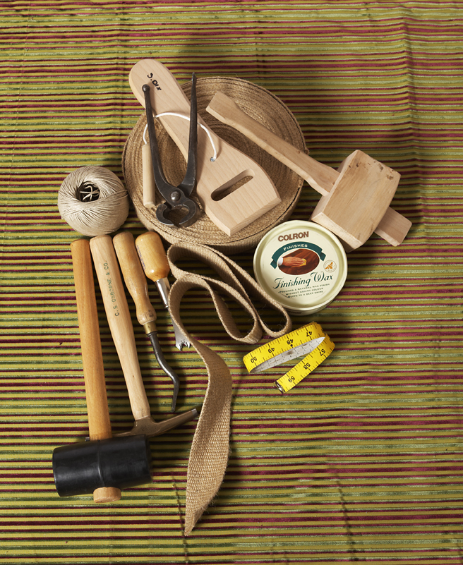 Upholstery tools & materials