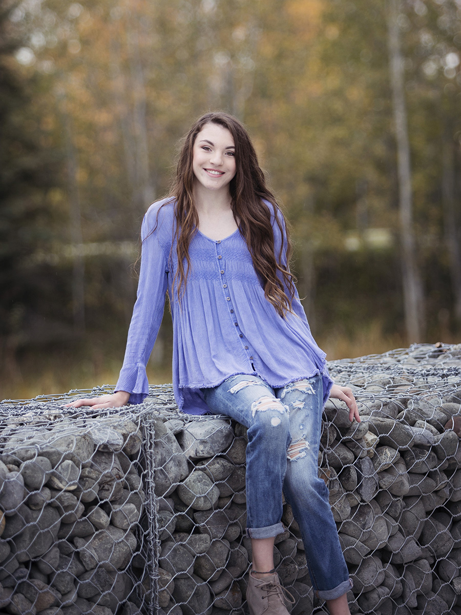Anchorage High School Senior Photography