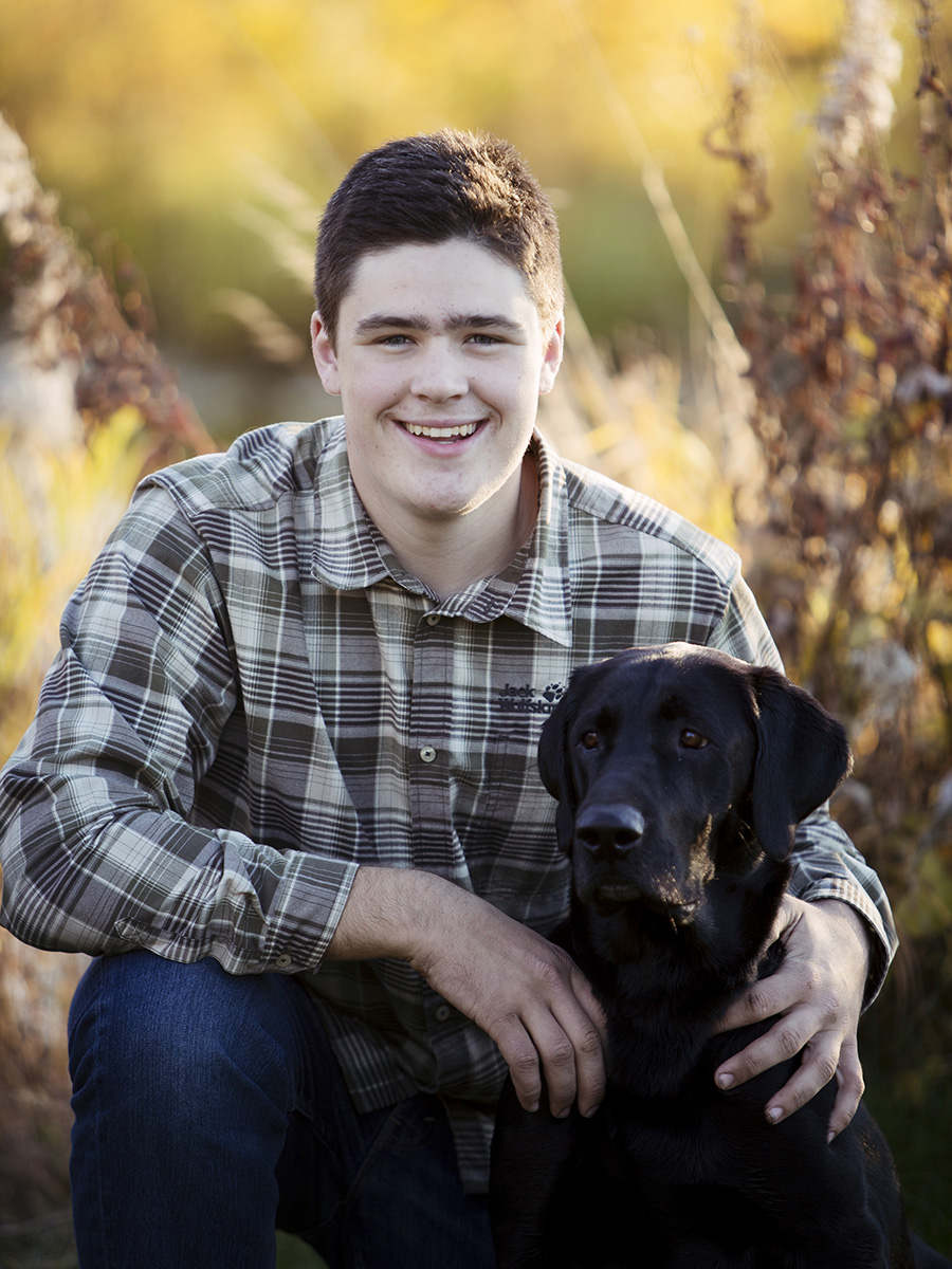 Anchorage High School Senior Pet Photography