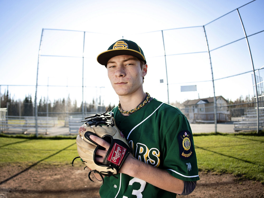 Anchorage High School Senior Sports Photography