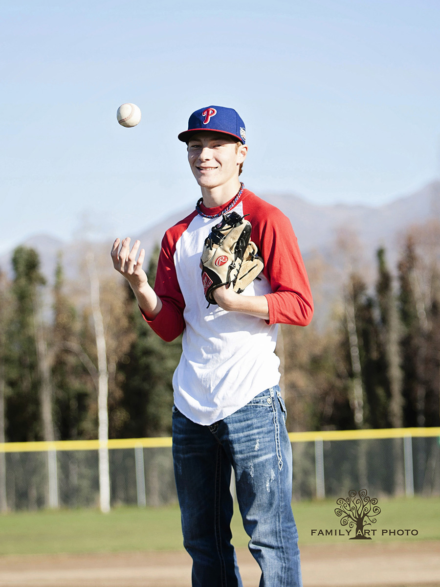 Anchorage High School Senior Sport Photography