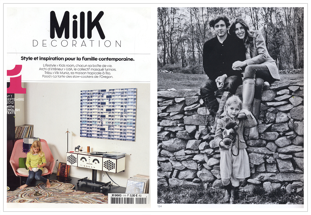 Milk Decoration - French magazine, 2012