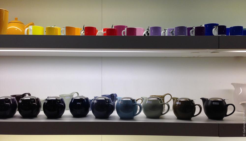 Bon Marché Paris Teapots