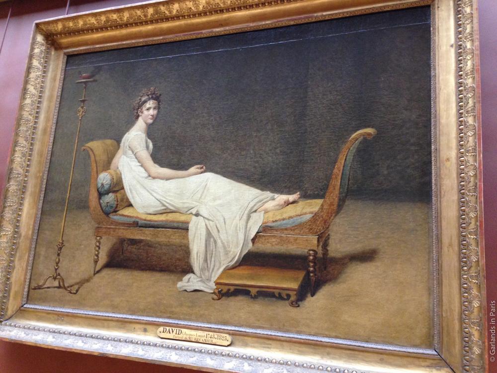 Madame Recamier Louvre