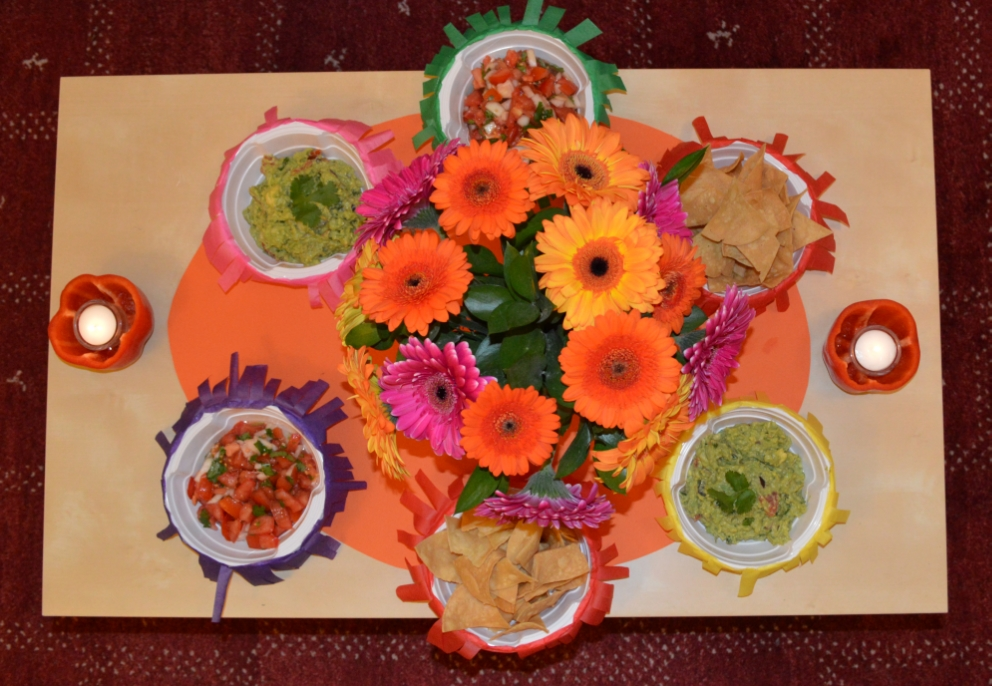 Tex-mex dinner party