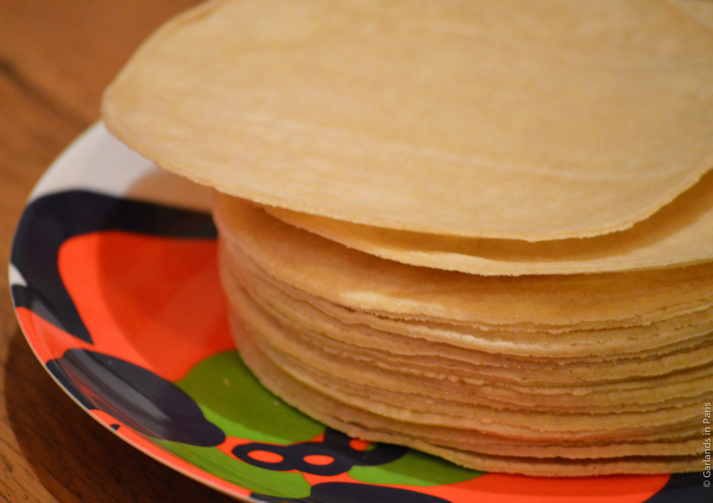 Mil amores paris tortillas