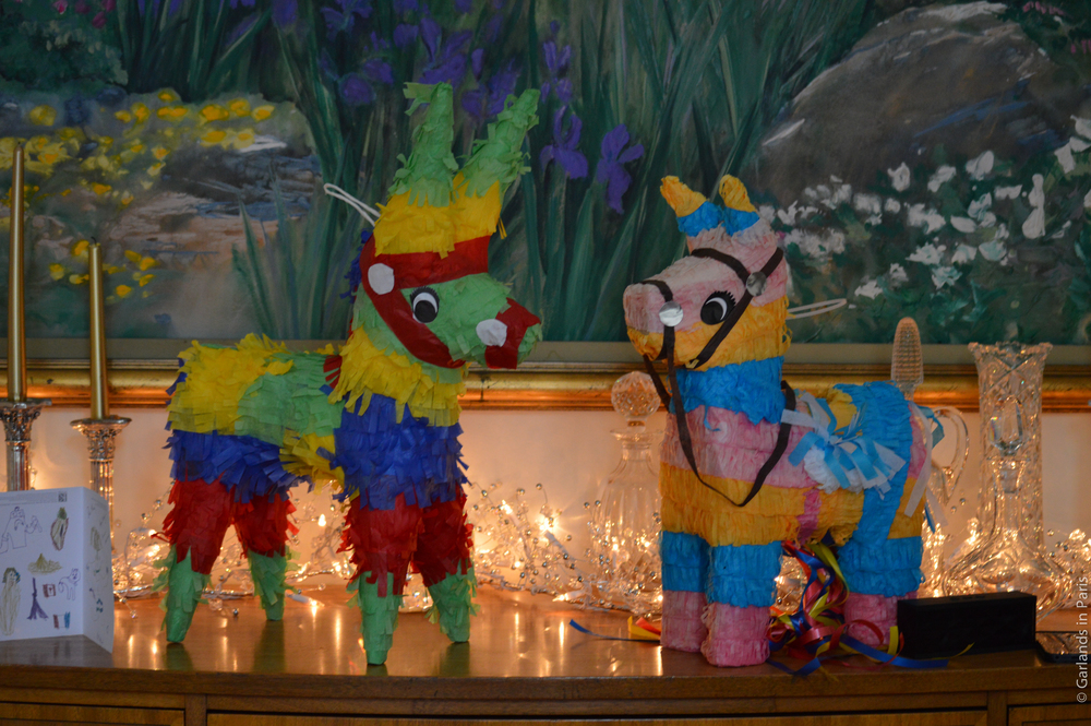A Rosy Birthday Party pinatas