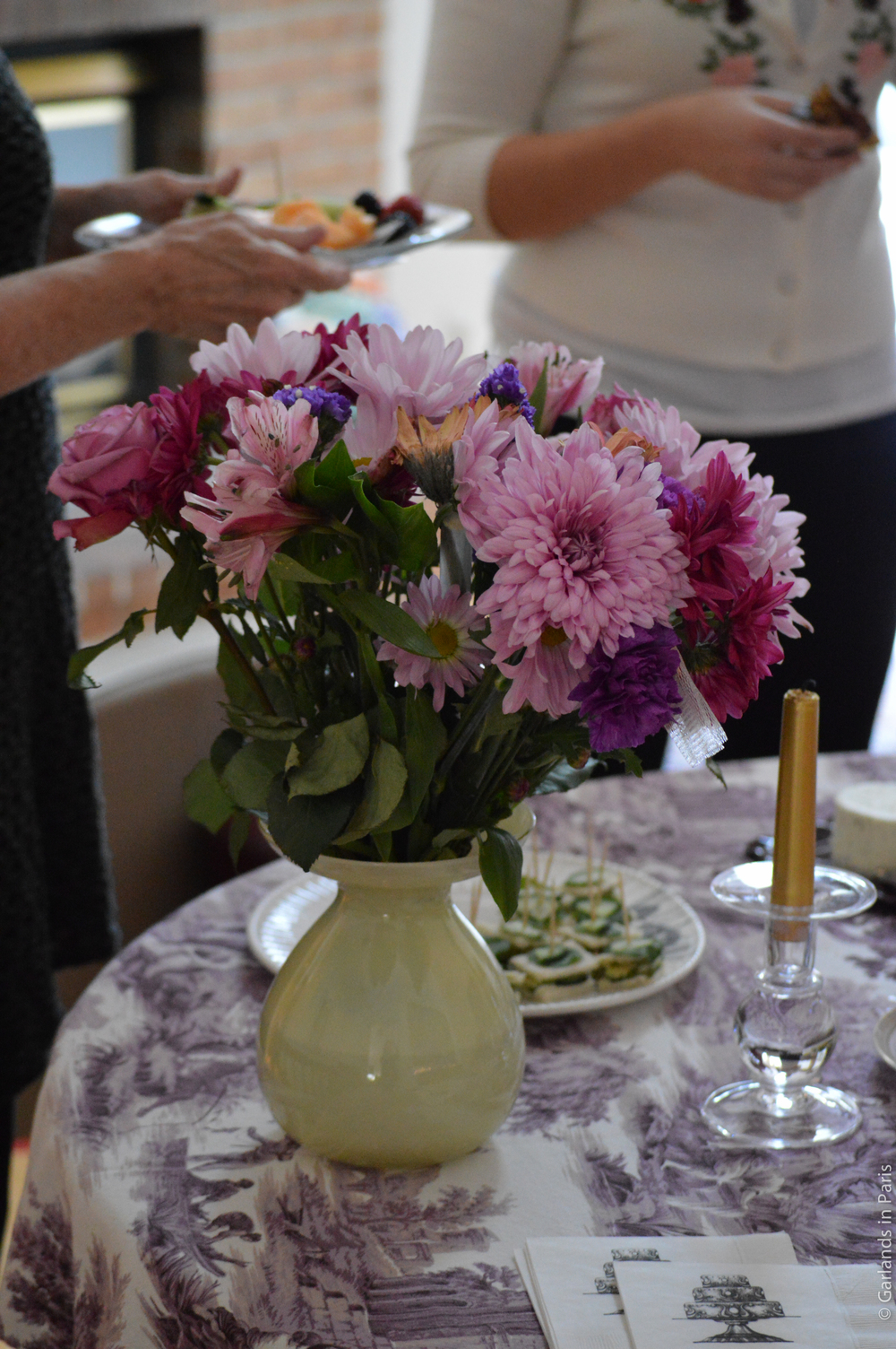 A Rosy Birthday Party Flowers
